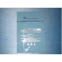 Quality Blue Shinny Way Foil Cosmetic Packaging Bag Rich Moisture For Special Mask for sale