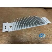 China Aluminum Extruded Shapes / Heatsink Profile With Precise Cutting wholesale