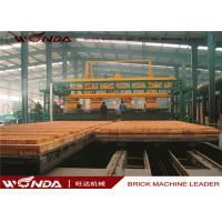 China Gas Fired Clay Tunnel Brick Kiln Automatically Run For Brick Making Machinery Plant wholesale