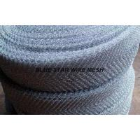 Buy cheap Crimped / Corrugated Knitted Wire Mesh Round / Flat Wire Stainless Steel / from wholesalers
