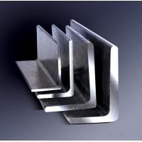 China Galvanized Steel Angle , Aluminum Angle Bar Low Carbon Hardened Steel on sale