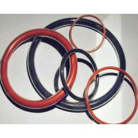 China Colorful Rubber O Ring Seals Oil Resistance , High Temperature Silicone O Ring wholesale