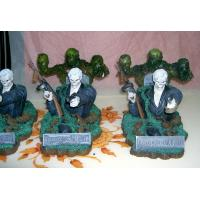 China Lifelike Casting Epoxy Resin Crafts Action Figurine Zombie Warrior Sculptures for The Home on sale