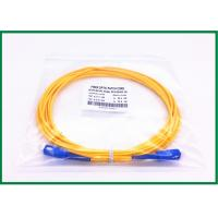 China CATV Outdoor Sc-Sc Fiber Patch Cord With Ultra Fiber , Simplex Patch Cord on sale