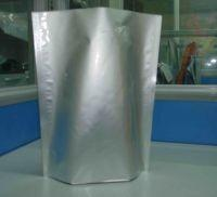 China Glossy Plain Silver Stand UP Foil Pouch Packaging Ziplock for Food Packaging wholesale