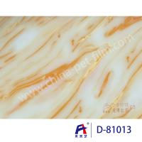 China Weilaiyi Marble PVC Coating Window Decorative Film 0.12-0.18mm Thickness wholesale
