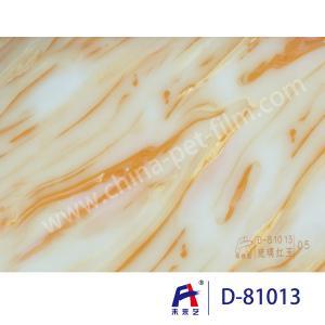 China Weilaiyi Marble PVC Coating Window Decorative Film 0.12-0.18mm Thickness wholesale
