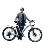 """China Durable 26"""" MTB Electric Bicycle For Women ,  Full Suspension E MTB Bike wholesale"""