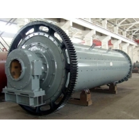 China SGS Cylindrical Rotating Ball Mill Machine For Crushing Material wholesale