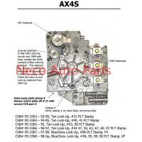 China Auto transmission AX4S sdenoid valve body good quality used original parts wholesale
