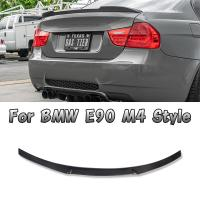 China Carbon Fiber BMW Body Kits Rear Spoiler For 3 Series E90 M4 Style Carbon Fiber 05 - 11 Sedan wholesale