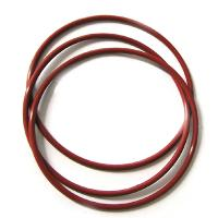 China ASTM D2000 Custom Silicone Parts Rubber O Rings for Automobiles wholesale