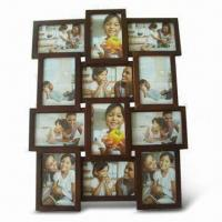 China Photo Frame, Made of Wood, Various Sizes are Available wholesale