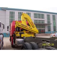 China Sinotruk Tractor Truck Mounted Cranes Equipment 336hp 6×4 XCMG12 Tons Crane wholesale