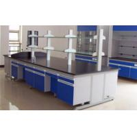 China Chemical Resistant Lab Tables Work Benches Steel And Wood With Phenolic Resin Top wholesale
