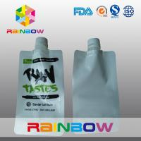 China Laminated  Nylon 3 - Side White Spout Pouch Packaging Automated Printed Logo wholesale