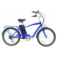 Buy cheap 24'' man e pedelec in cruiser 250W motor Battery Powered Bicycle High performanc from wholesalers