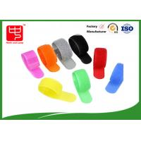 China Color Back To Back Hook And Loop Cable Tie / Nylon Hook And Loop Fastener Strap wholesale