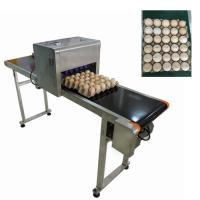 China High - Definition Egg Jet Coding Machine Easy To Clean With Good Fade Resistance wholesale