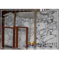 China Italia White Marble Slabs/ Arabeseato Carrara Marble Slabs/ Calacatta Slabs on sale