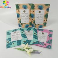 China Reclosable Matt Finish Stand Up Pouch Bags , Zip Lock Packaging Bag For Body Scrub wholesale