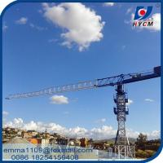 China Factory PT5010 HYCM Tower Crane 50M Lifting Jib 4T Max. Load Chart wholesale
