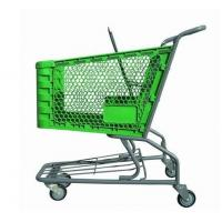 Plastic Trolley, American Type Shopping Cart, Supermarket Trolley ,Shopping