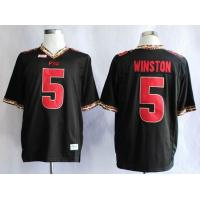 China NCAA Florida State Seminoles (FSU) Jameis Winston 5 College Football Jerseys wholesale
