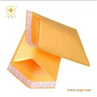 China Gold Yellow Kraft Paper Mailing Envelope/ Shock Proof Bubble Padded Kraft Mailing Bag wholesale