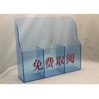 China Hotel / Restaurant Acrylic Menu  Holder Display Stand For Menu Card wholesale