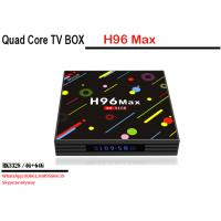 China Wholesale factory price android 7.1 smart tv box H96 MAX H2 RK3328 4 core 4G 64G Dual WIFI KD player wholesale