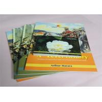 China Commercial Offset Printed Softcover Book Full Color / One Color Case Bound wholesale