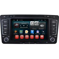 Android Car Dvd For Volkswagen Skoda Octavia For Vw Dvd Gps With Dual Core 1 g Cpu Am / Fm