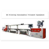 China Plastic 3d Printer Filament Extrusion Line With Single-Screw 380V wholesale