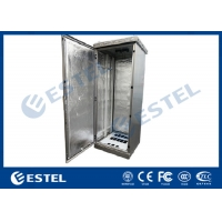 """Buy cheap IP55 Fans Cooling Galvanized Steel Outdoor Telecom Cabinet Includes 19"""" Rack from wholesalers"""