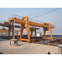 Buy cheap 120t Double Beam Manual Travelling Gantry Crane from wholesalers