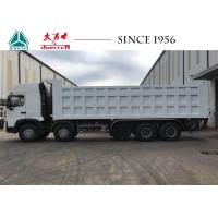 China A7 14 Wheeler HOWO Dump Truck Euro IV Engine With Higher Ground Clearance wholesale