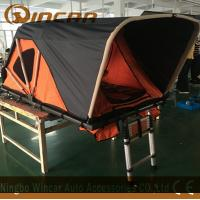 Quality Two Person Soft Roof Top Tent , Overland SUV Pop Up Roof Top Camper for sale