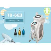 China 3 In 1 Multifunctional E-light RF ND Yag Laser Hair Removal Tattoo Removal  Wrinkle Removal Machine wholesale