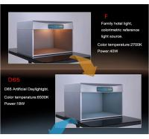 China 695x552x502mm Size Light Box Color Assessment Cabinet Six Light Source Long Lifespan wholesale