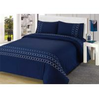 Buy cheap 100% Cotton Embroidered Modern Bedding Sets 4Pcs Double Size Bedding Sets from wholesalers