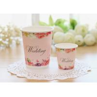 China Multiple Size Single Wall Paper Cups For Cold Hot Drinks With Food Safe Inks wholesale