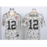 China Nike NFL Green Bay Packers 12# Rodgers Camo elite jersey wholesale
