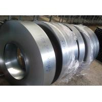 China Commercial G350 Galvanized Metal Strips , Regular Spangle Galvanised Steel Strip,Bright Surface on sale