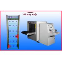 China Security Checkpoints Baggage X Ray Machine , High Precision Airport Security Body Scanners on sale