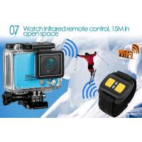 China Wifi Remote Control Outdoor Sports Camera / HD Action Cameras Support Slow Motion on sale
