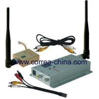 China 1.2GHz 800mW wireless AV transmitter receiver wholesale