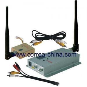 China 1.2GHz 800mW wireless AV transmitter receiver wholesale