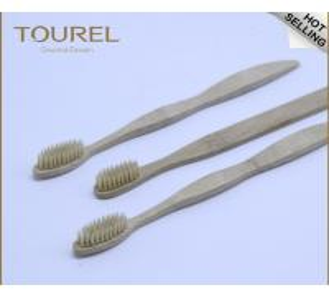 China Original Environmental Bamboo Toothbrush Charcoal & Vegan Bristle Choices wholesale