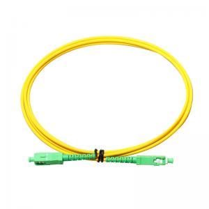 China SM/MM SC/APC LC FC ST MU DIN Optical Fiber Patch Cord wholesale